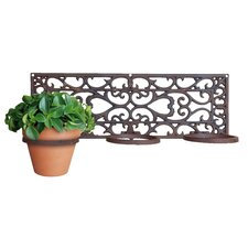 Rectangular Wall Mounted Planter