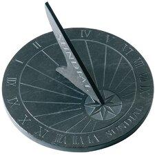 Round Slate Sundial