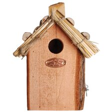 Best for Birds Box Thatched Roof