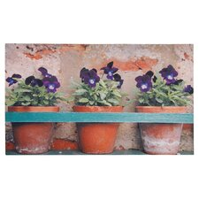 Flower Pots Printed Doormat