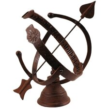 World of Weather Armillary Sundial