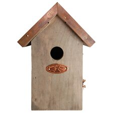Copper Roof Wren Bird House