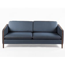 Lore Leather Reclining Sofa