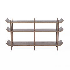 "Sean Dix 29.13"" Etagere Bookcase"