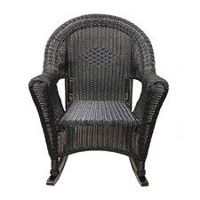 Wicker Rocking Chair Patio Furniture