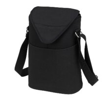 Neo Two Bottle Tote in Black