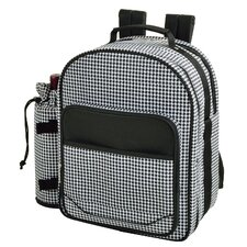Houndstooth Backpack Picnic Cooler