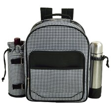 Houndstooth Coffee Backpack Picnic Cooler
