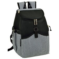 22 Can Houndstooth Backpack Cooler