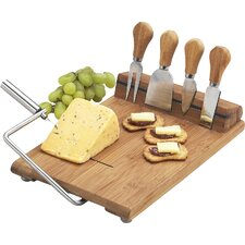 Silton 6 Piece Cheese Tray Set