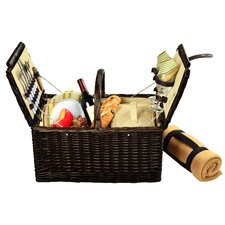 Surrey Picnic Basket  with Blanket for Two