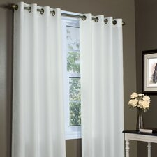 Thermavoile Lined Grommet Single Curtain Panel
