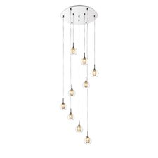 Auge 9 Light Cascade Pendant