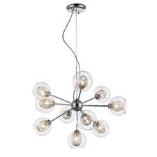 Auge 10 Light Chandelier