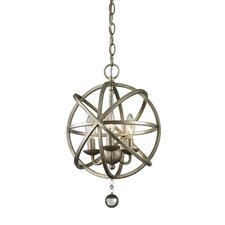 Acadia 3 Light Globe Pendant
