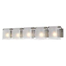 Zephyr 5 Light Vanity Light