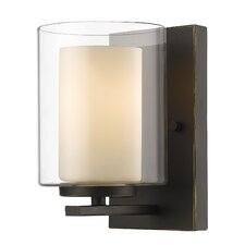 Willow 1 Light Wall Sconce