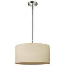 Albion 3 Light Drum Foyer Convertible Pendant