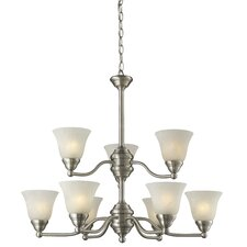 Athena 9 Light Chandelier