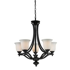 Lagoon 5 Light Mini Chandelier