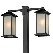 """Vienna 2 Light 99"""" Outdoor Post Lantern Set"""