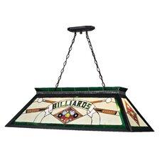 Tiffany 4 Light Billiard Light
