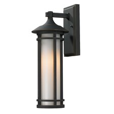 Woodland 1 Light Outdoor Wall Lantern
