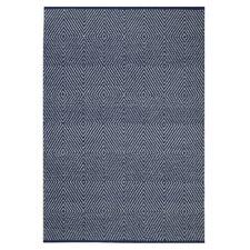 Zen Dark Blue Area Rug