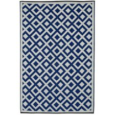 World Marina Blue Indoor/Outdoor Area Rug