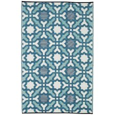 World Seville Blue Indoor/Outdoor Area Rug