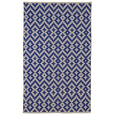 Zen Samsara Cotton Indigo/Natural Area Rug
