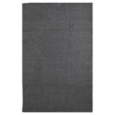 Zen Karma Cotton Black Area Rug