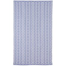 Zen Marga Cotton Blue Area Rug