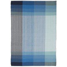Estate Bliss Hand-Woven Blue Indoor/Outdoor Area Rug