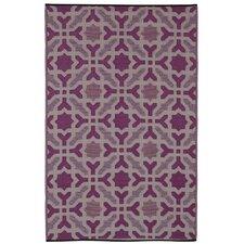 World Seville Purple Indoor/Outdoor Area Rug