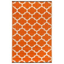 Tangier Carrot World Outdoor Plastic Area Rug