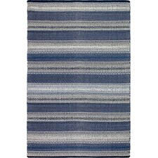 Estate Hand-Woven Blue Area Rug