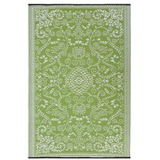 World Murano Lime Green Indoor/Outdoor Area Rug