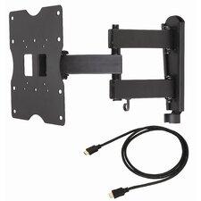 """Articulating Arm/Tilt/Swivel Corner Mount for 18"""" - 40"""" Plasma/LCD/LED"""