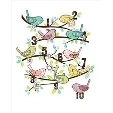 Artwork-123 Birds Canvas Art