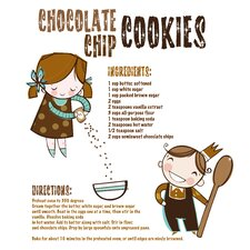 Artwork Chip Cookies Canvas Art