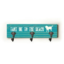 Take Me to the Beach Wall Hanger