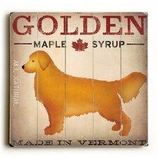 Golden Dog at Show Wall Décor