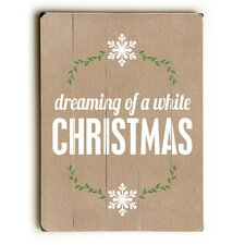 Dreaming of a White Christmas Wall Décor