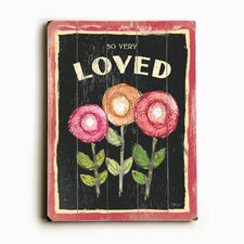 Three Flowers by Flavia Graphic Art Plaque