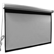 "Elegante Matte White 110"" diagonal Electric Projection Screen"