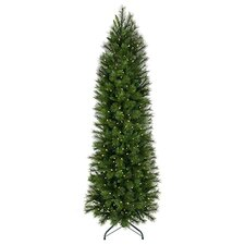 7.5' Belgium Mix Artificial Christmas Tree with 400 Lit Lights with Stand