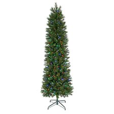 9' Belgium Mix Artificial Christmas Tree with 550 Lit Lights with Stand