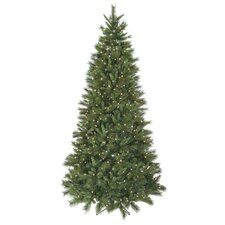 18' Belgium Mix Artificial Christmas Tree with 3900 Lit White Lights with Stand