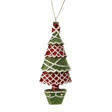 Glitter Candy Tree Ornament (Set of 3)